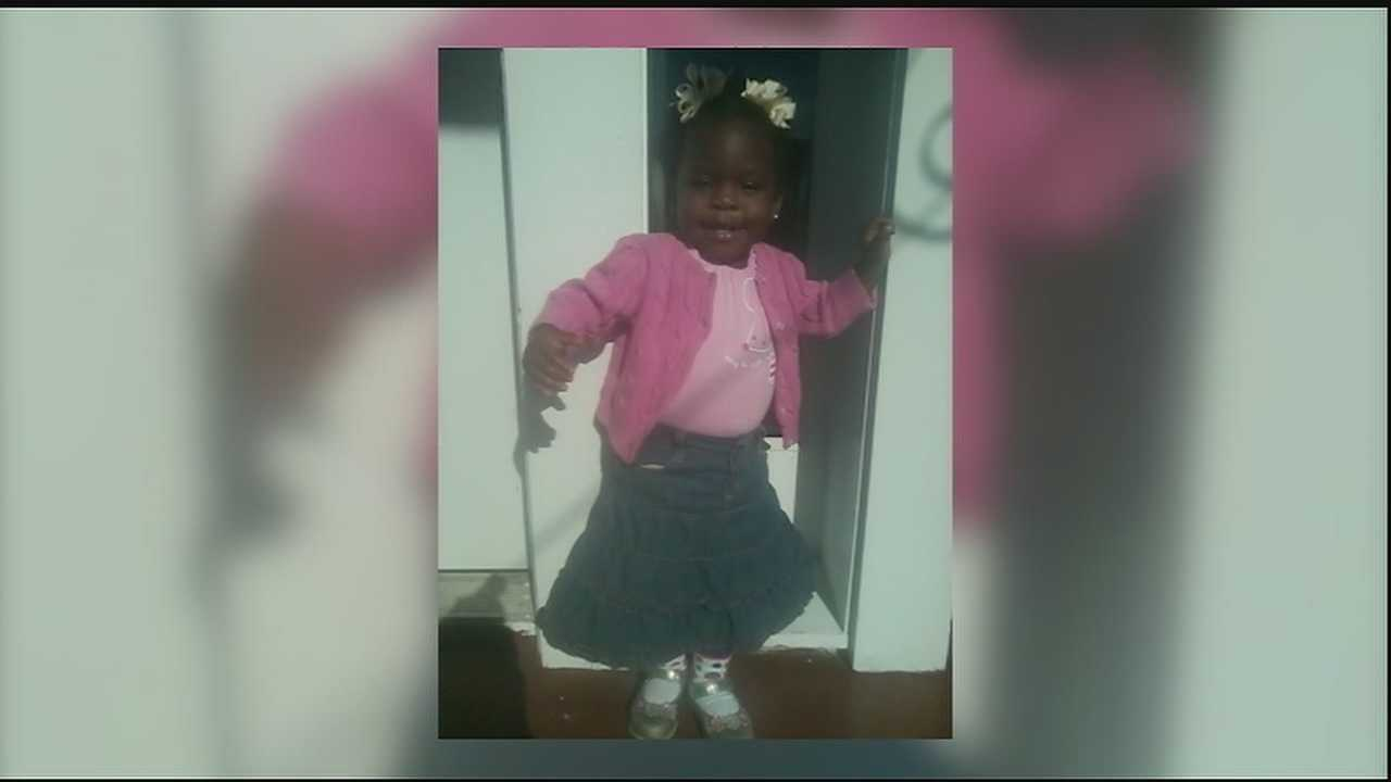 A 3-year-old shot in the back Tuesday night while playing outside her family's Gert Town apartment continues to recover.