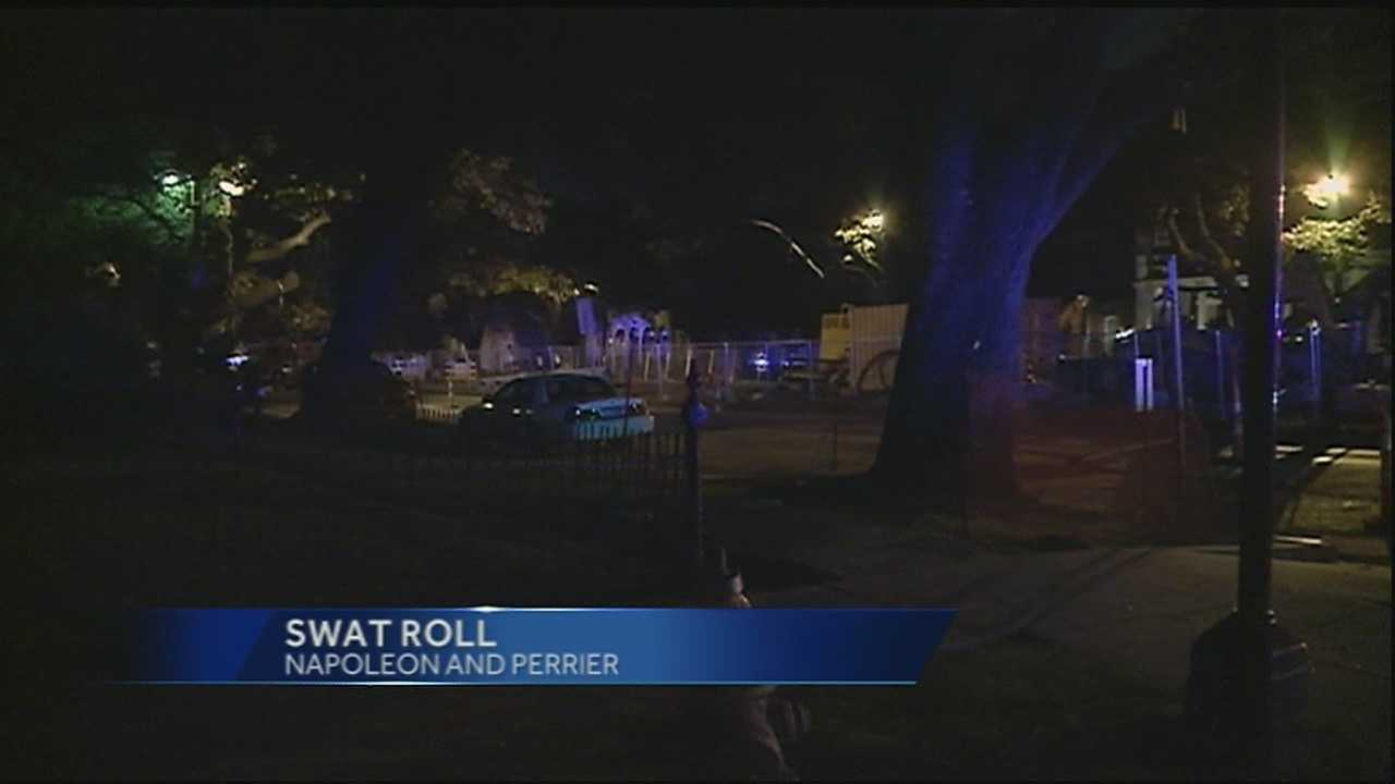 SWAT roll ends peacefully