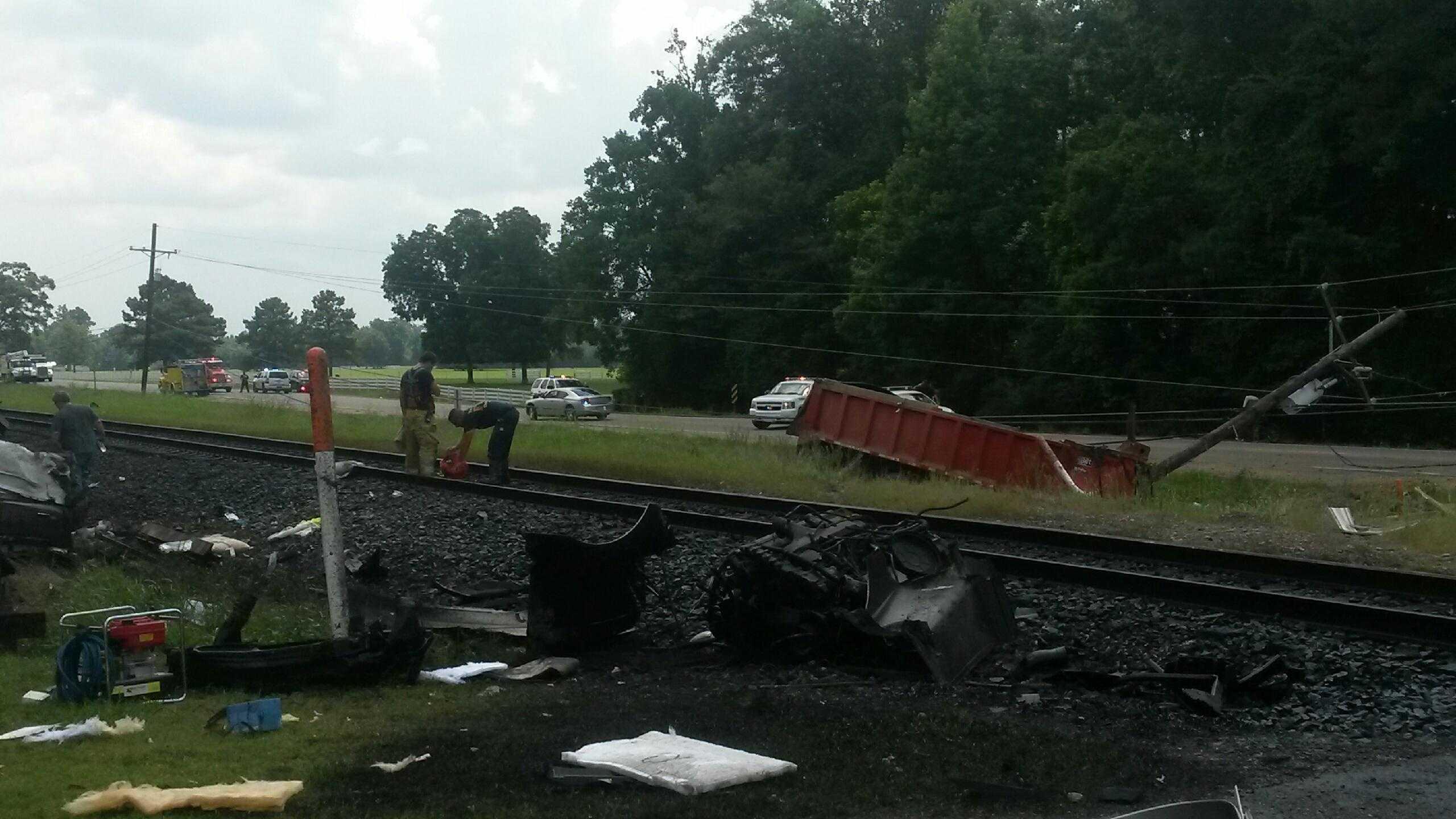 Amite train crash