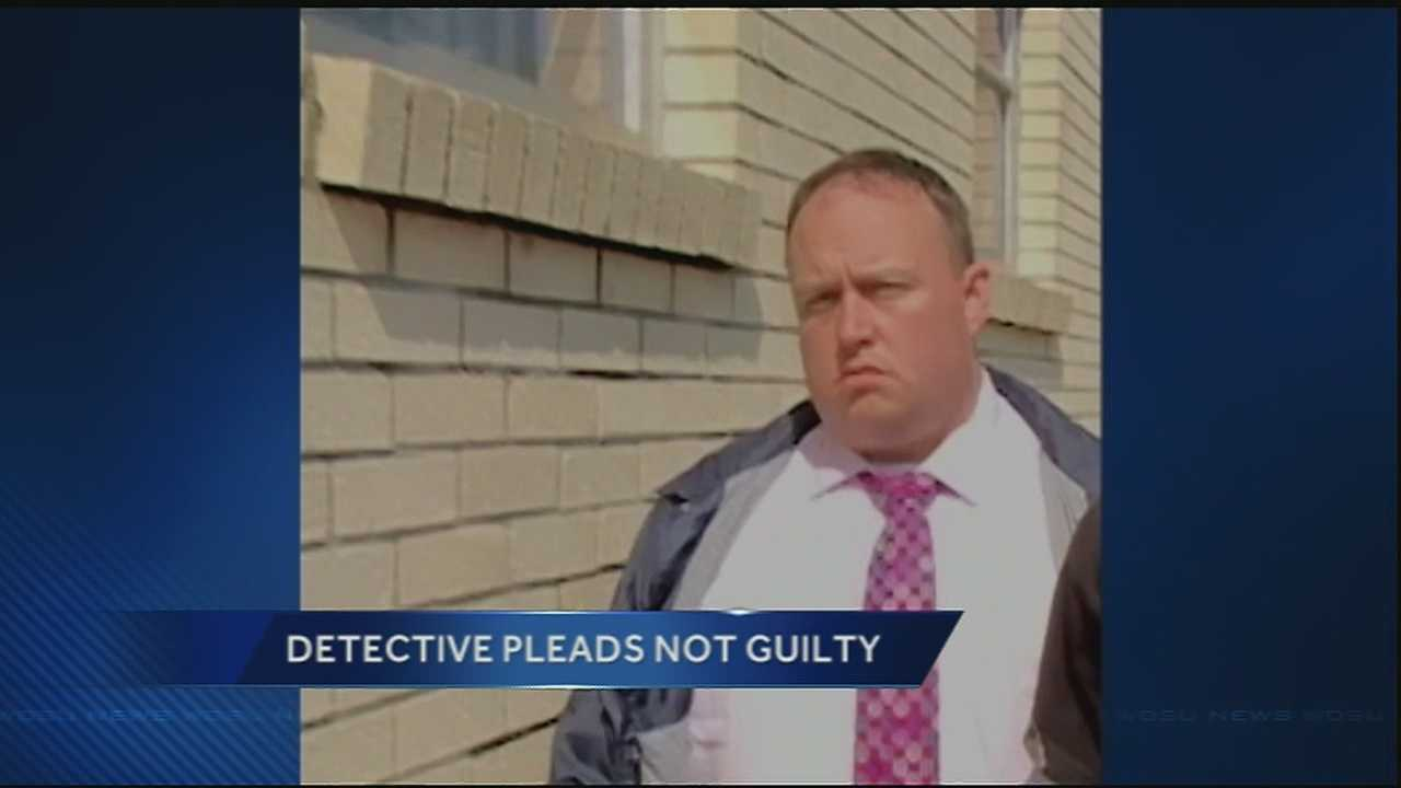 A detective with the NOPD, who is accused of attempted second-degree murder  and simple battery stemming from a domestic-related incident, appeared in court Monday, pleading not guilty to charges against him.