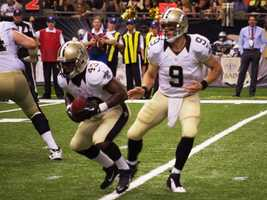 2012:Drew Brees5 years, $100 million.  Brees becomes the highest paid player in NFL history.