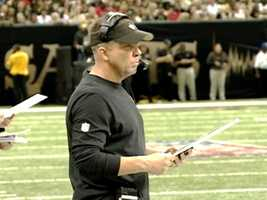 2013:Sean Payton5 years, $40 million. Payton becomes the 2nd highest paid head coach in the NFL.