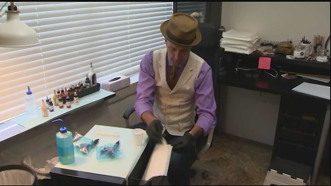 A long-time tattoo artist, Vinnie Myers, has the artistic skill to create a 3-D nipple tattoo for women who have undergone breast reconstruction surgery.The procedure helps women recover both physically and emotionally from mastectomies. Myers works both here in New Orleans and in his originaltattoo parlor in Baltimore but he is now becoming known nationally for his work with nipple tattoos for breast reconstruction surgeries.