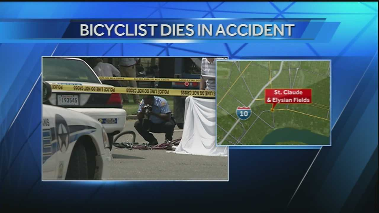Bicyclist dies in accident