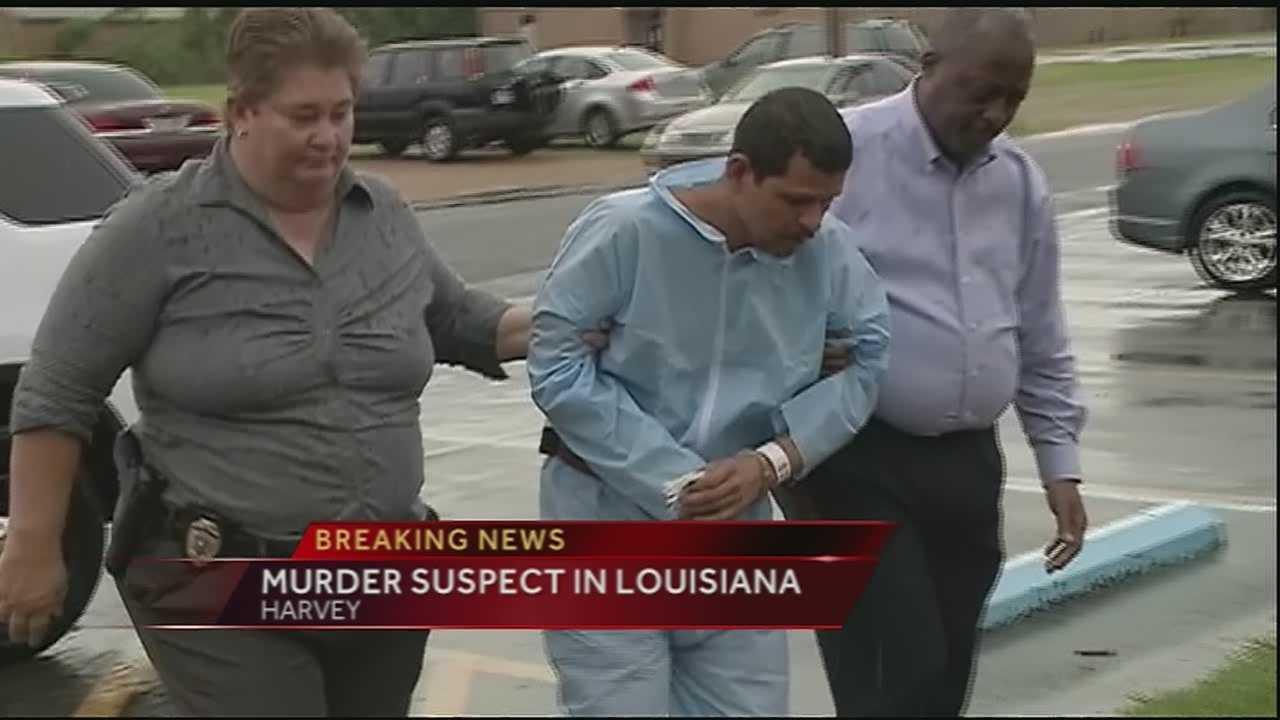 Metairie murder suspect back in Louisiana