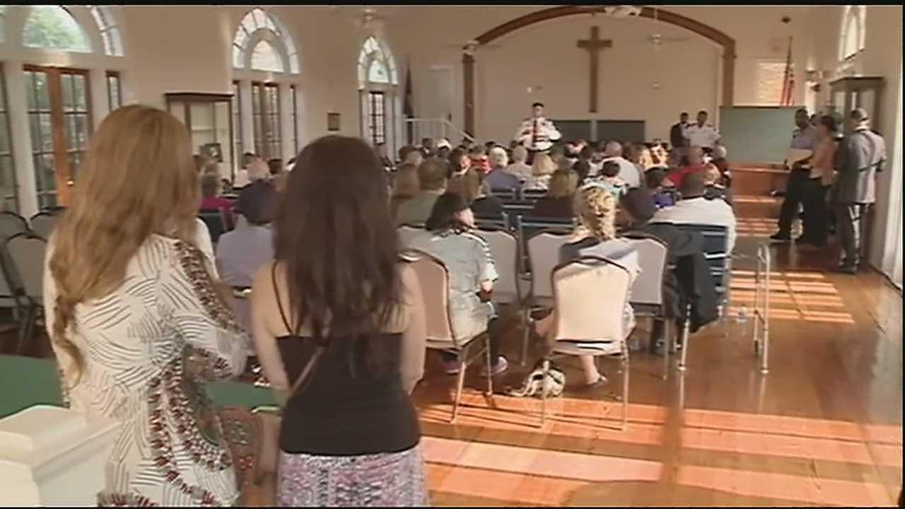 Officials speak at Dist. C anti-crime meeting