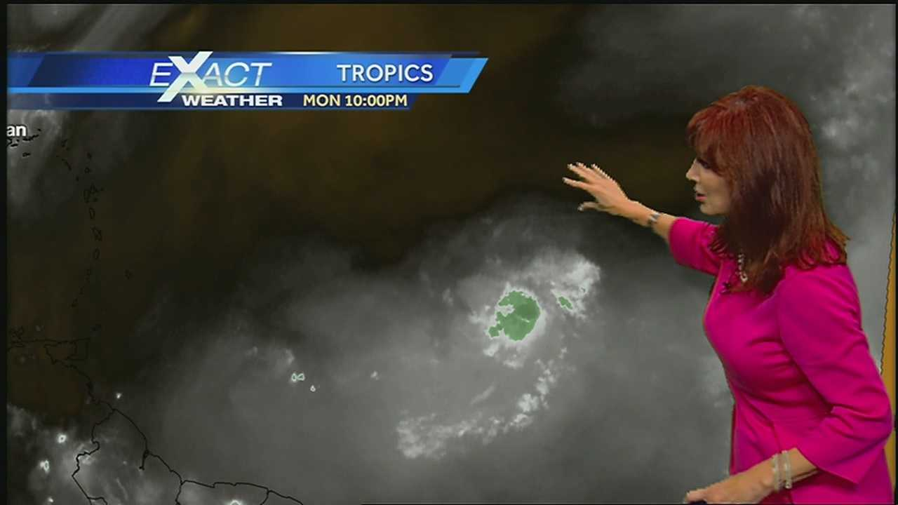 Tropical Depression Two Is Dealing With Dry Air