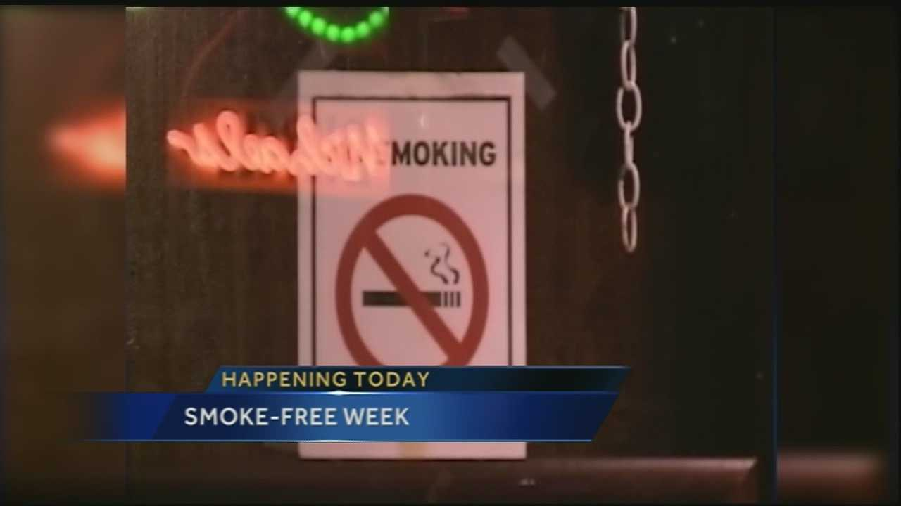 Smoke-Free Week has bars trading in cigarettes for clean air