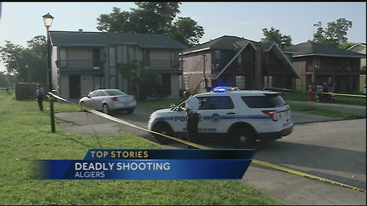 Police investigate fatal shooting in Algiers