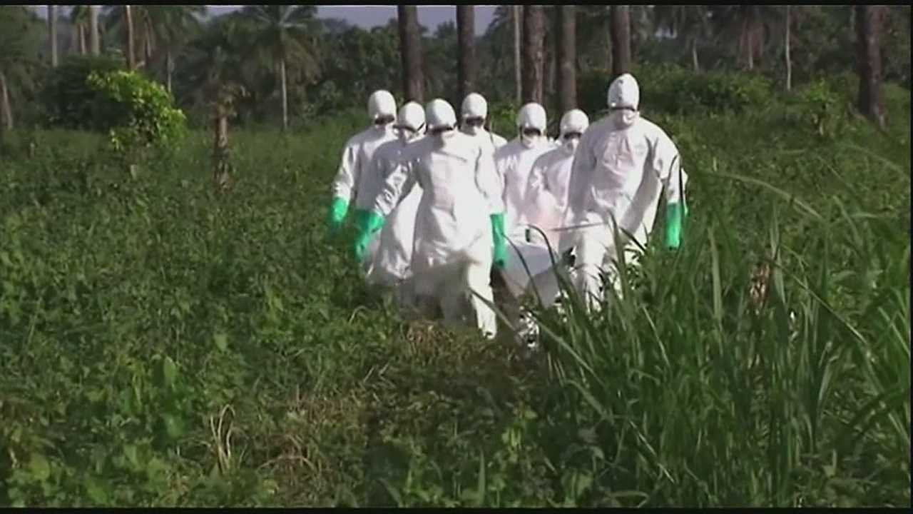 Fears ebola virus could spread to U.S.