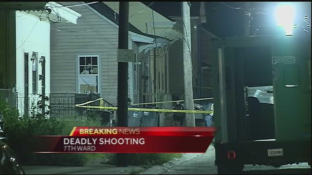 Man gunned down in 7th Ward