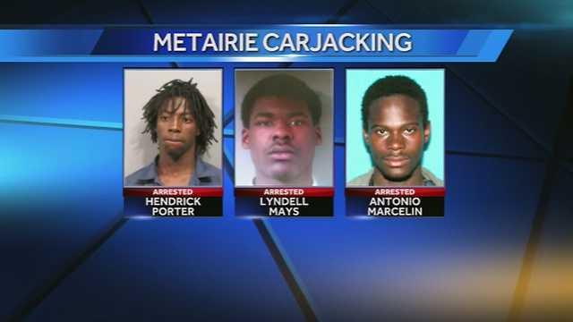 Metairie carjacking