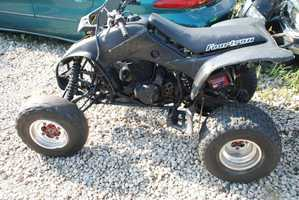 New Orleans police seek the driver of this ATV in connection with a hit-and-run investigation in Treme.