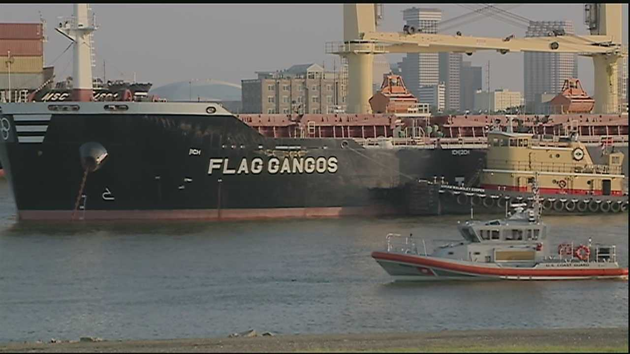 The Coast Guard has reopened the Mississippi River to all traffic near the International Matex Tank Terminals after two ships collided late Tuesday night.