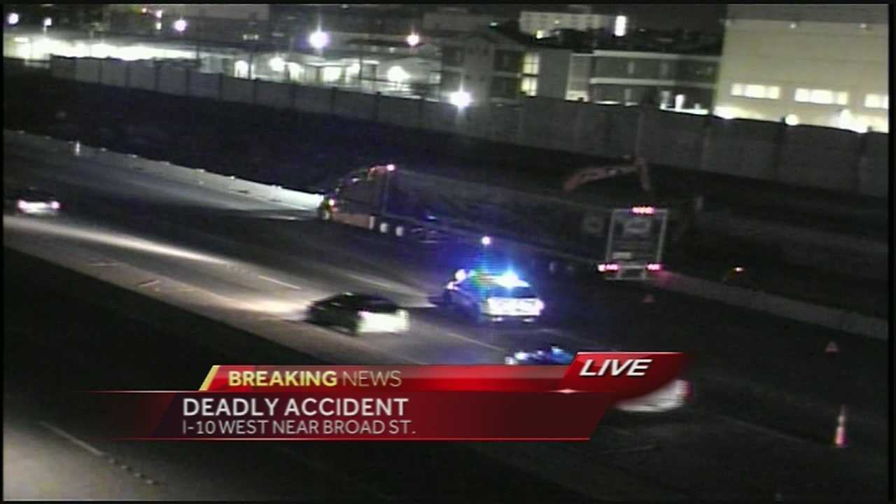 Man killed in I-10 accident