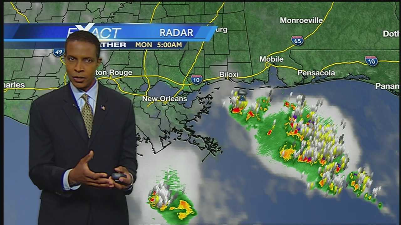 Showers and Thunderstorms With Lower Temperatures Today