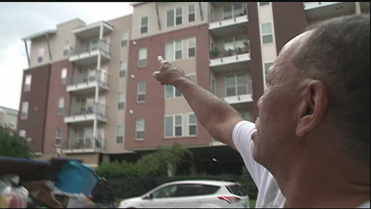Man shot entering wrong apartment speaks