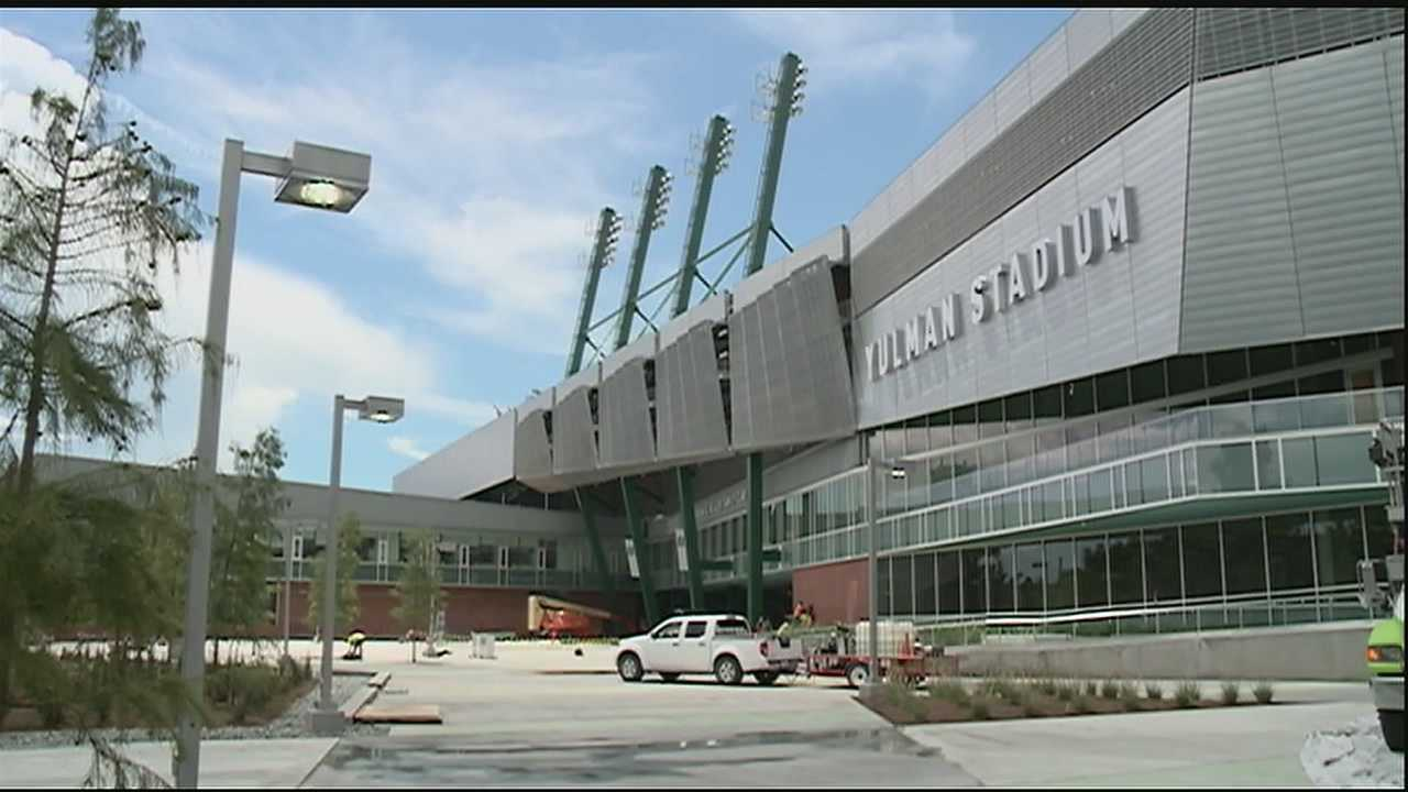 Excitement builds as first game in new Yulman Stadium approaches