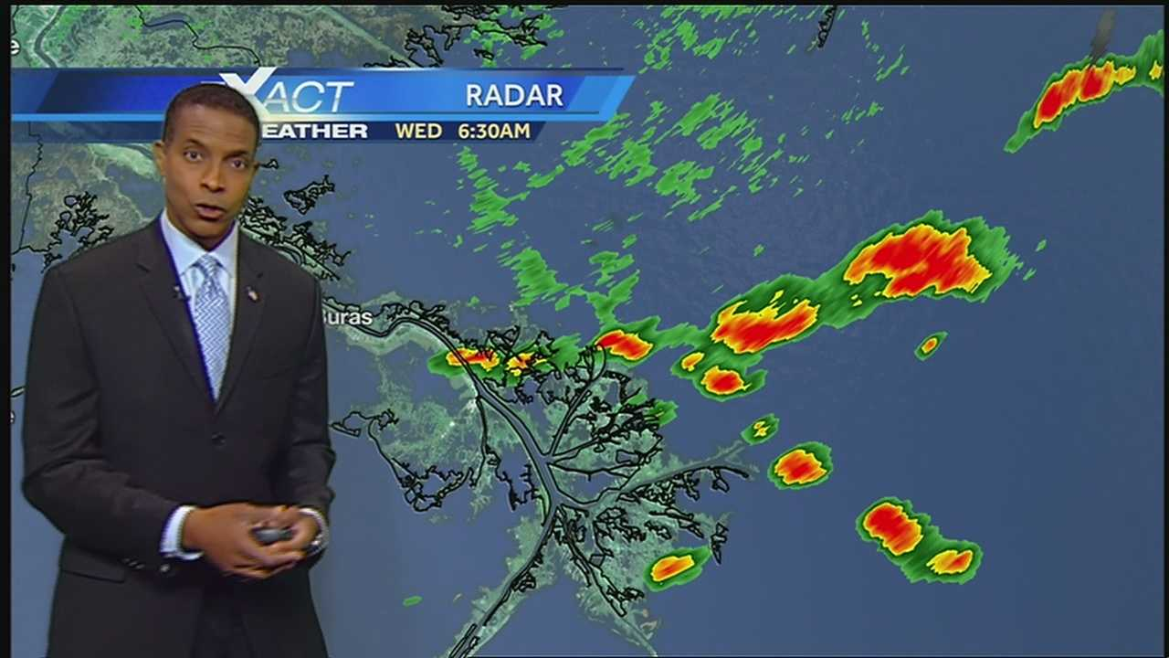 Dolly Now A Depression And More Showers And Storms For SE Louisiana