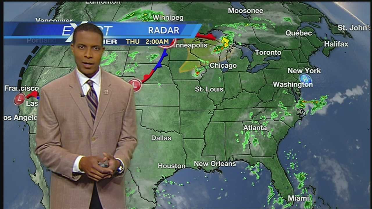 Cloudy, Hot And Humid Thursday