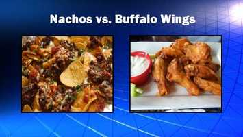 Nachos sound filling and seem healthy, but factor extras and you've got a recipe for disaster. Buffalo wings aren't any better made deep fried. Source: Health.com