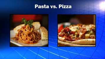 This one seems like a no-brainer, but the two carbo-loaded meals can be tricky. Pizza is greasy, while pasta is often served with extra Parmesan. Source: Health.com