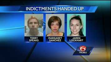 Terry Speaks and Margaret Sanchez were indicted on June 12, 2014.
