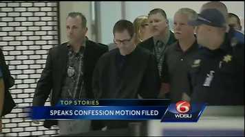 Dec. 3, 2014:An attorney Terry Speaks wants a confession his client made thrown out.