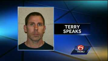 June 3, 2015: Prosecutors say Terry Speaks tried to get police to shoot him when he was arrested in connection with the murder and dismemberment of a Louisiana woman three years ago.