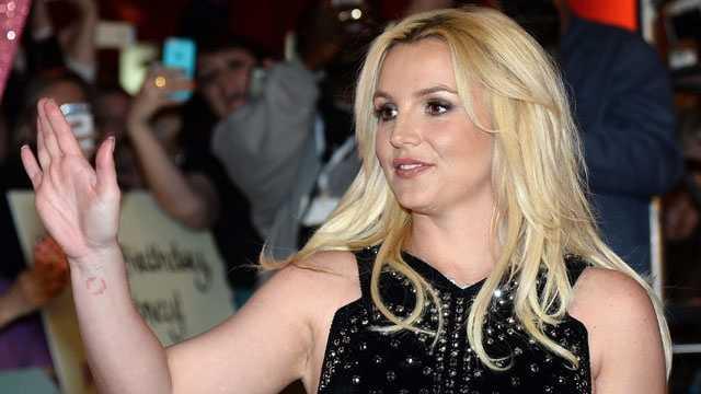 Britney Spears, December 2013