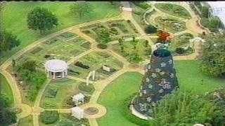 An aerial view of Cypress Gardens from 2004.