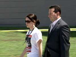 Casey Anthony and defense attorney Jose Baez in 2008.