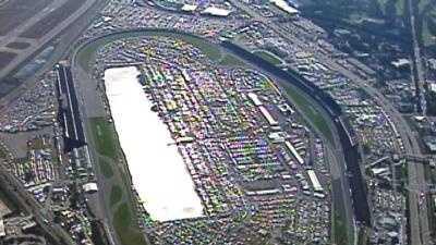 Aerial View Of Daytona 500 - 11048336