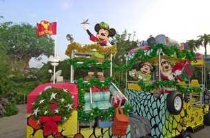 Mickey's Jammin' Jungle Parade at Disney's Animal Kingdom