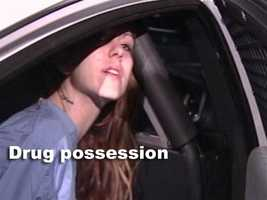 Kerchner was also charged with possession of marijuana.