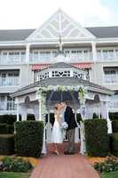For brides who have always dreamed of a Gazebo wedding, there's a perfect spot right at Disney's Yacht Club.   Designed like a New England yacht club, your guests will feel like they're at an elegant hotel in Martha's Vineyard or Nantucket.