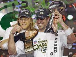 2011: Super Bowl XLV (Aaron Rodgers)