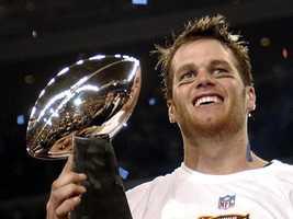 2002: Super Bowl XXXVI (Tom Brady, New England Patriots)