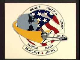 STS 51-L crew patch