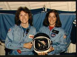 Christa McAuliffe and Barbara Morgan named Teacher in Space Participants