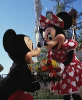 """""""Oh, Mickey ... almost 75 years together and you still keep the romance alive."""""""