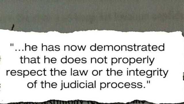 Judge's written order filed in Zimmerman bond case
