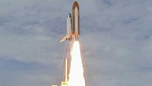 Atlantis lifts off