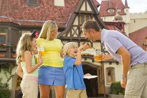 Also new in 2012, Disney said there will be more kid-friendly tastes so that children can enjoy eating around the world with the family.