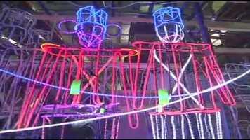 Each year, Disney technicians pump up the light show a little more.
