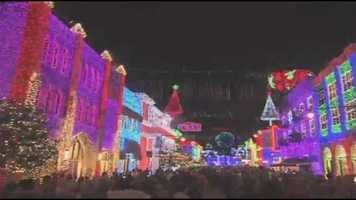 The Obsourne Spectacle of Dancing Lights is a yearly tradition.