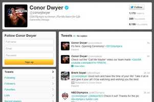 Conor Dwyer - @conorjdwyerMen's swimmingAttended the University of Florida
