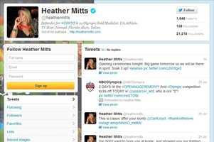 Heather Mitts -@heathermittsWomen's soccerUniversity of Florida graduate