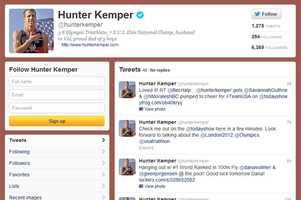 Hunter Kemper -@hunterkemperMen's triathlonFrom Longwood