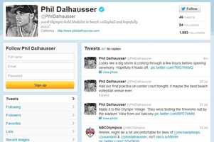 Phil Dalhausser - @phildalhausserMen's beach volleyballFrom Ormond Beach and graduated from UCF